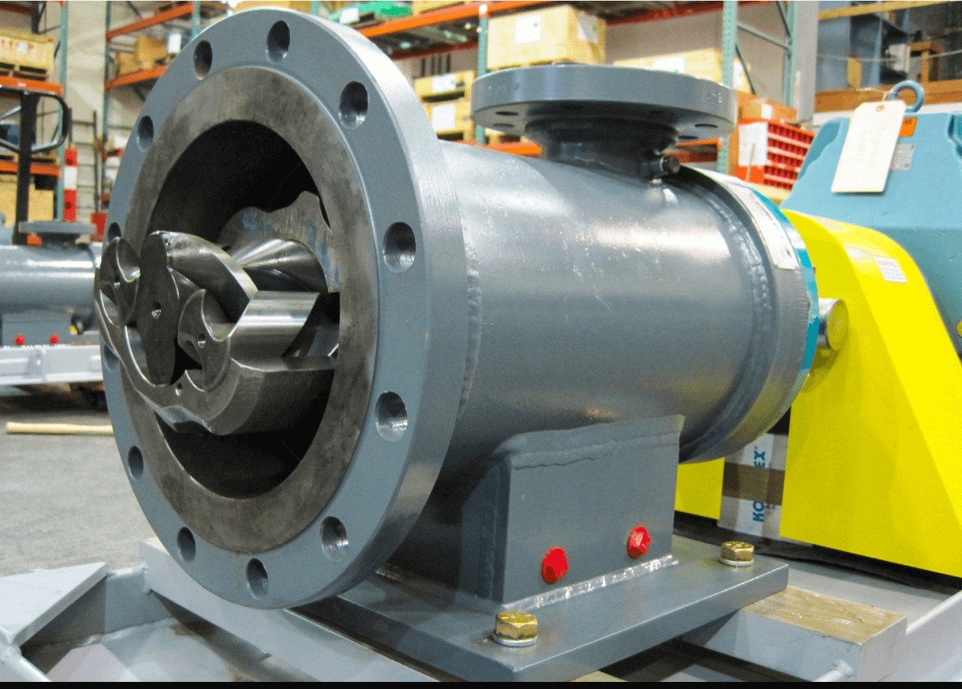 Re-engineered pump for highly viscous fluids