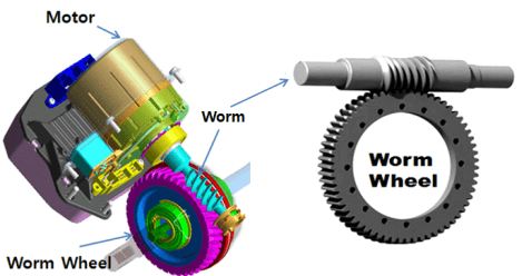 Steering Worm Process