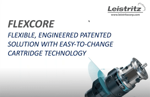 FLEXCORE Screw Pumps for Lube Oil and Hydraulics